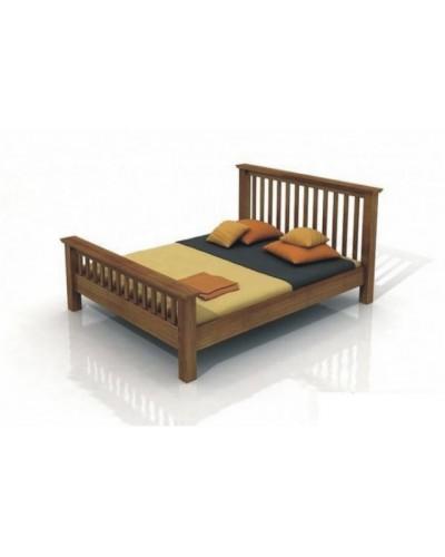 Borovicová posteľ Lindgren