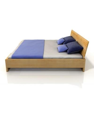 Borovicová postel Hessler High s úložným priestorom