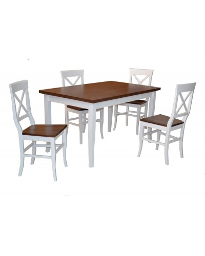 MILANO + 4 ks stolička RIO/L 1