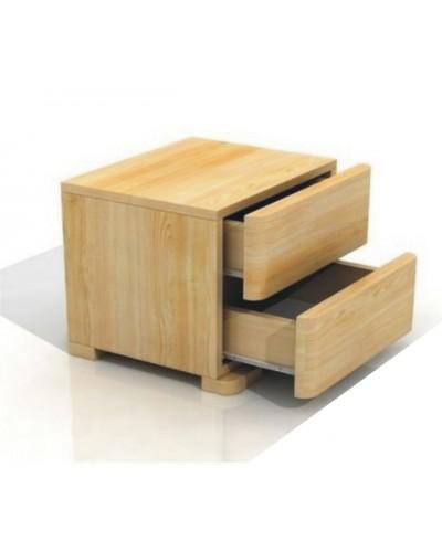 Nočný stolík z borovicového dreva Sandemo 2s