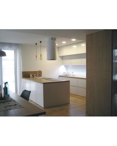 Kuchyňa Biela lesk