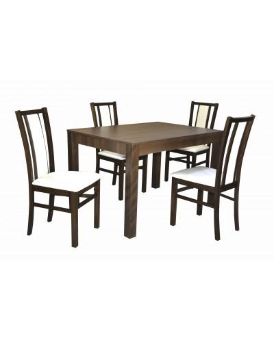 Stôl MONZA +4 ks Stolička D116