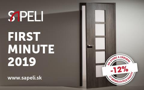 First minute 2019 Sapeli